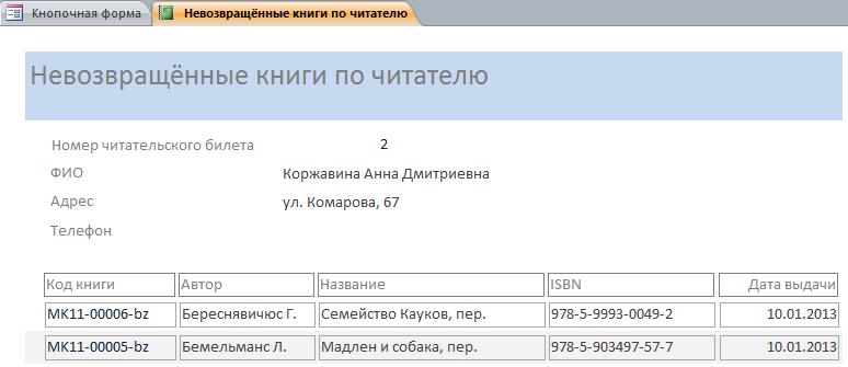 Готовая база данных access Библиотека. Курсовая по СУБД аксесс