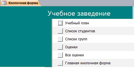 Страница Ввод-просмотр данных.