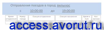 Access Расписание поездов дальнего следования база данных скачать; программа бд отправление поездов дальнего следования;железнодорожный вокзалaccess