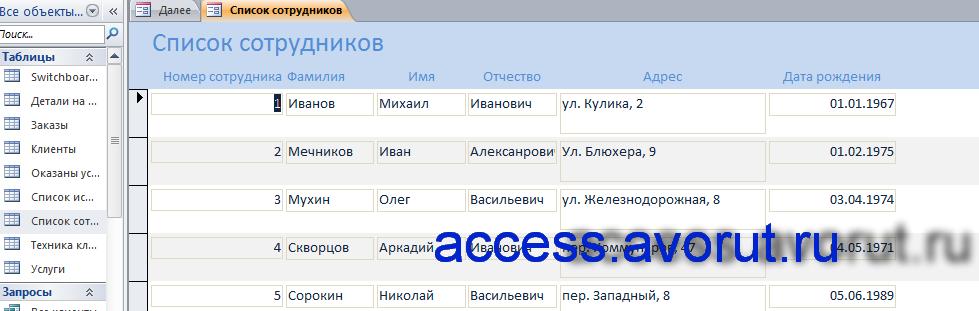 учет компьютерной техники на предприятии диплом;база данных учет компьютерной техники на access скачать