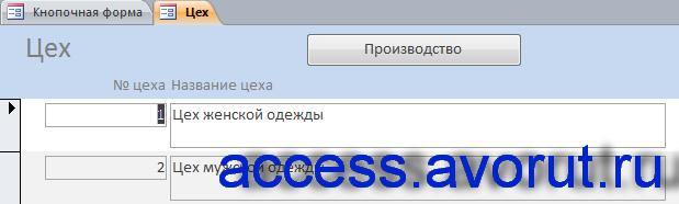"""Скачать готовую базу данных access """"Швейная фабрика"""" (швейное ателье)"""